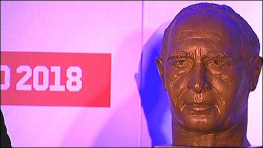 Bust of Sir Alf Ramsey