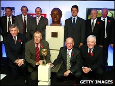 World Cup winners and Capello unveil the statue