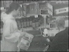 Lindsay Rimer seen on CCTV before she went missing
