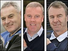 Dave Jones, Kenny Jackett and John Sheridan