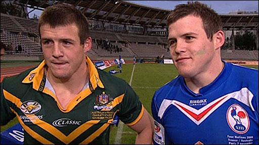 Australia's Josh and Brett Morris