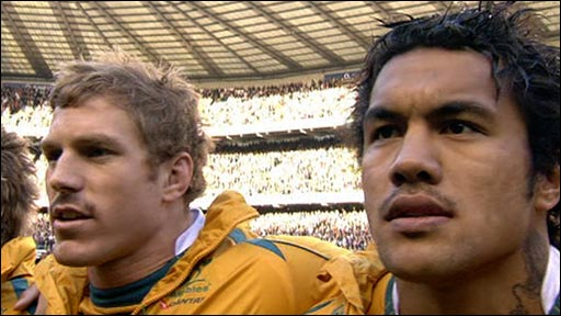 David Pocock and Digby Ioane