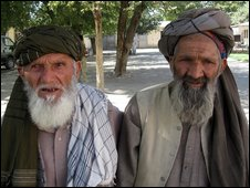Afghan voters. Photo credit: Hugh Sykes