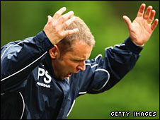 Shrewsbury manager Paul Simpson