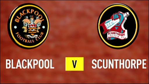 Blackpool v Scunthorpe
