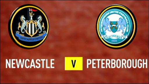 Newcastle v Peterborough