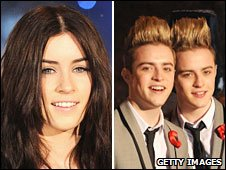 Lucie Jones and John and Edward Grimes