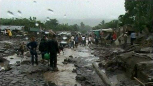 El Salvador flooding