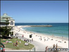 Cottesloe Beach, Perth, WA, 2007