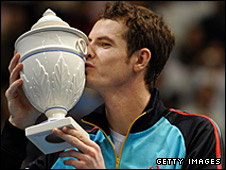 Andy Murray won the Valencia Open on Sunday