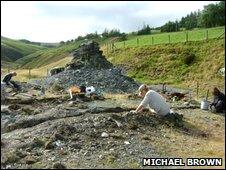 Work at Dylife mine
