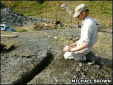 Andy Davies uncovers the eastern wall