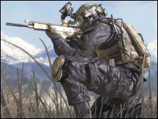 Screenshot from Modern Warfare 2, Activision/Blizzard