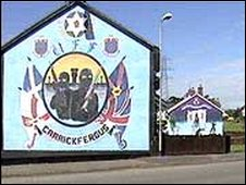 BBC NEWS | UK | Northern Ireland | Five arrests linked to loyalists