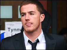 Ross McCormack, outside court