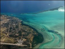 Turks and Caicos from the air