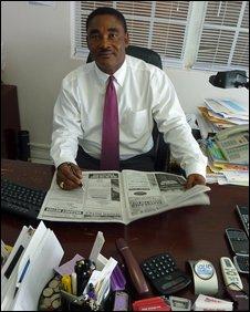 Blyth Duncanson  Editor Turks & Caicos Weekly News