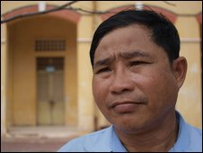 Cambodian teacher Im Sao Sokha lived through the Khmer Rouge era