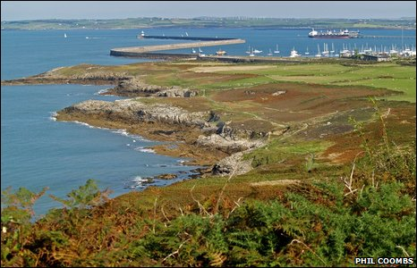 Holyhead breakwater and country park