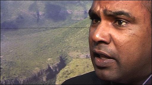 SA police chief Vishnu Naidoo