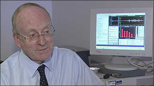 David Adams, ENT consultant at the RVH
