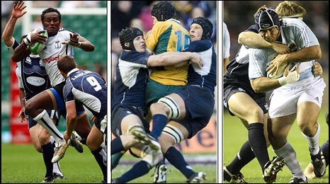 Scotland against Fiji, Australia and Argentina