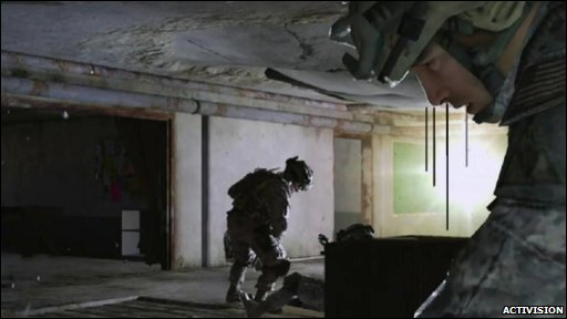 Screen grab from Call of Duty: Modern Warfare 2