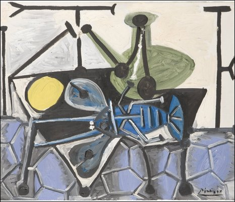 Still Life with Poron, Pablo Picasso      Succession Picasso/DACS 2009