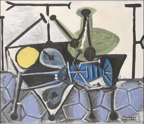 Still Life with Poron, Pablo Picasso     � Succession Picasso/DACS 2009