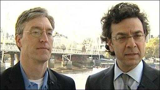 authors Stephen Dubner and  Steven Levitt