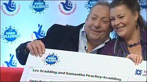 Les Scadding and Samantha Peachey-Scadding