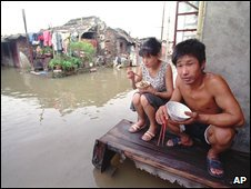 Floods on the Yangtze