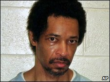 Recent undated jail photo of John Allen Muhammad