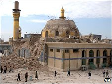 Al-Askari shrine is one of the holiest buildings of Shia Islam