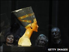 Queen Nefertiti bust at Berlin's Neues Museum