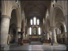 er St Margaret's Church in Burley