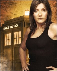 Michelle Collins in Doctor Who