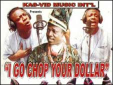 Publicity shot for I go chop your dollar