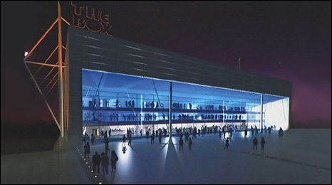 Possible design for arena at Ashton Vale