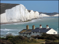 Seven sisters, East Sussex (Image: BBC)