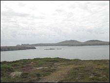 Ramsay Sound in Pembrokeshire