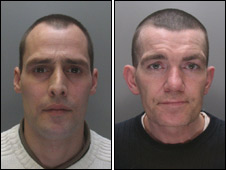 Michael McKevitt (left) and Stephen Wales (Pic: Merseyside Police) - _46706128_2beattie226police