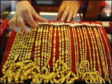 Gold shop, Anhui province, China, Nov 09