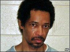 Recent undated jail photo of John Allen Muhammad