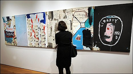 Brother's Sausage by Jean-Michel Basquiat