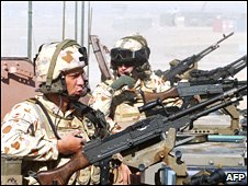 Australian soldier in Uruzgan province, Afghanistan, on 17 February 2007