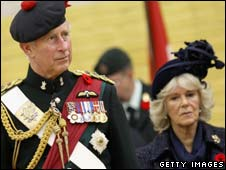Prince Charles and the Duchess of Cornwall at the event