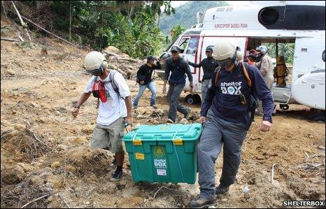 ShelterBox in Sumatra