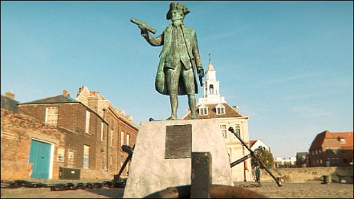 Vancouver statue, King's Lynn