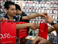 Palestinians buy Wataniya SIM cards